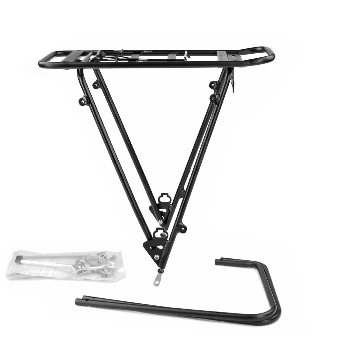 Porte-Bagage vélo WTP Noir arrière Réglable 26-28\