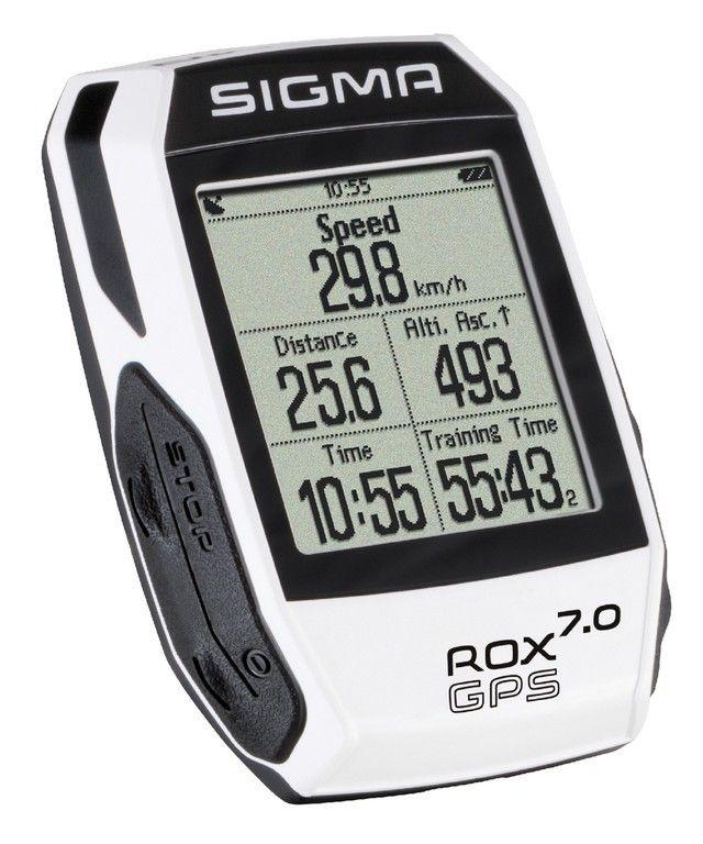 Compteur Sigma Rox 7.0 GPS Blanc