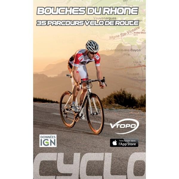 VTOPO guide Cyclo Bouches du Rhône