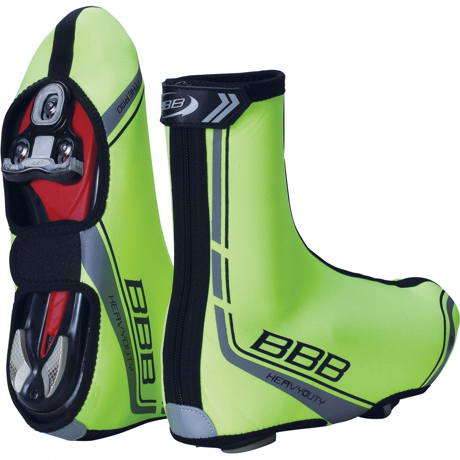 Couvre-chaussures BBB HeavyDuty OSS (Jaune fluo) - BWS-02B - 43/44
