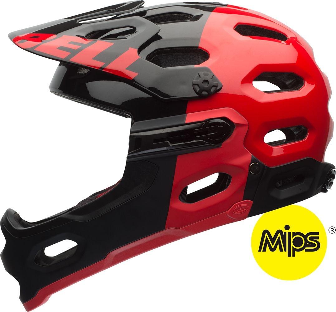 Casque Bell SUPER 2R MIPS Rouge/Noir - M (55-59)