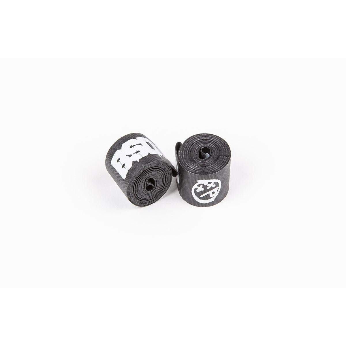 Fond de jante BMX BSD Rim Tape L. 31 mm (Paire) Noir