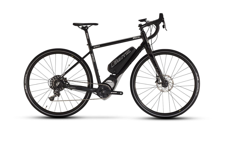 Vélo électrique Fantic Gravel GT Gran Tourismo Long Run Noir - M