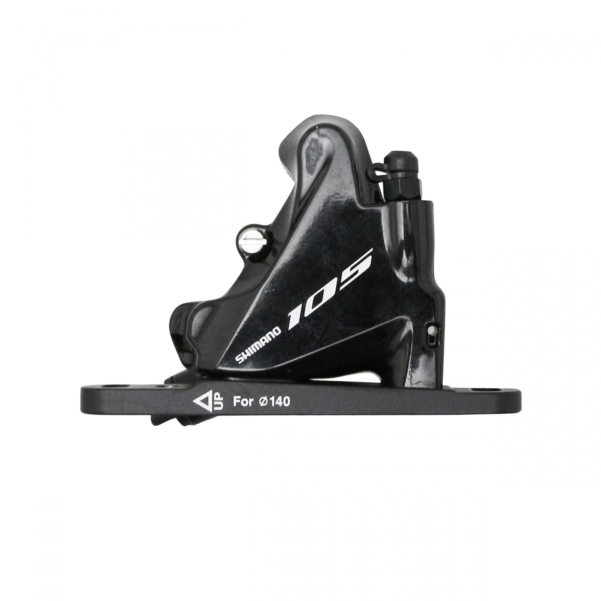 Étrier de frein AV route Shimano Disc 105 R7070 Flat Mount Noir