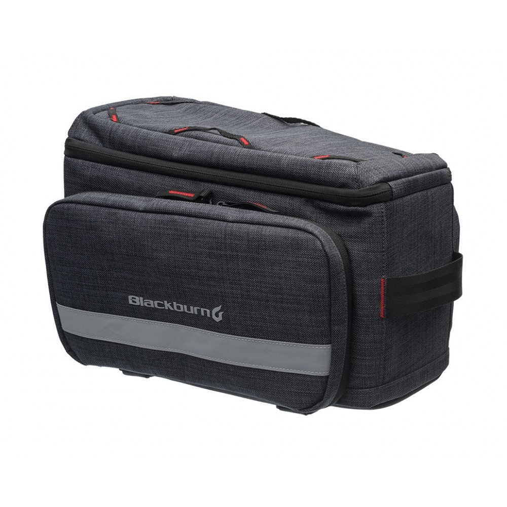 Sacoche de porte-bagages Blackburn Central Trunk Bag 11/26 L Gris