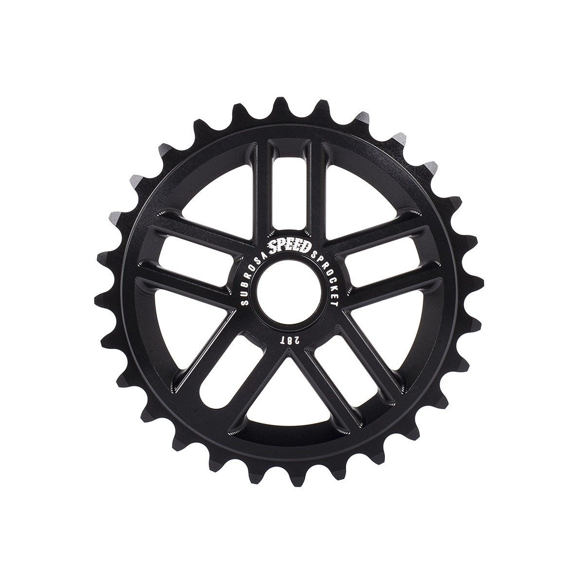Couronne BMX Subrosa Speed Sprocket 25 dts Noir mat
