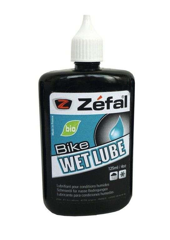 Lubrifiant chaîne Zéfal Bio Wet Lube Conditions humides 125 ml