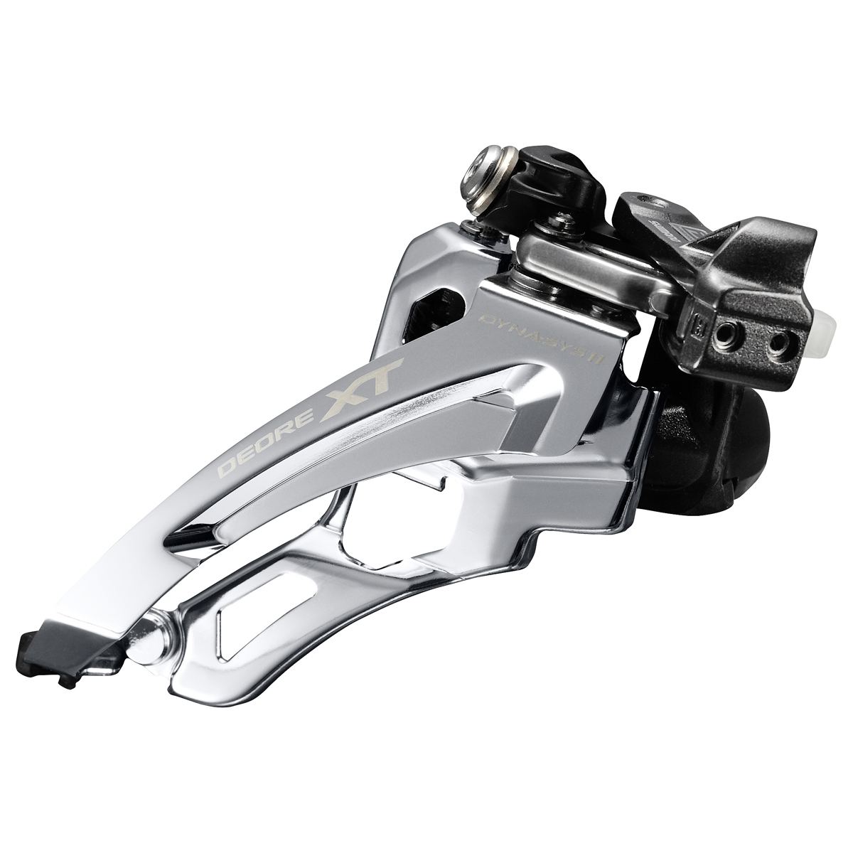 Dérailleur avant Shimano XT M8000 3x11 Side-Swing Collier Bas 34.9-31.8-28.6 mm