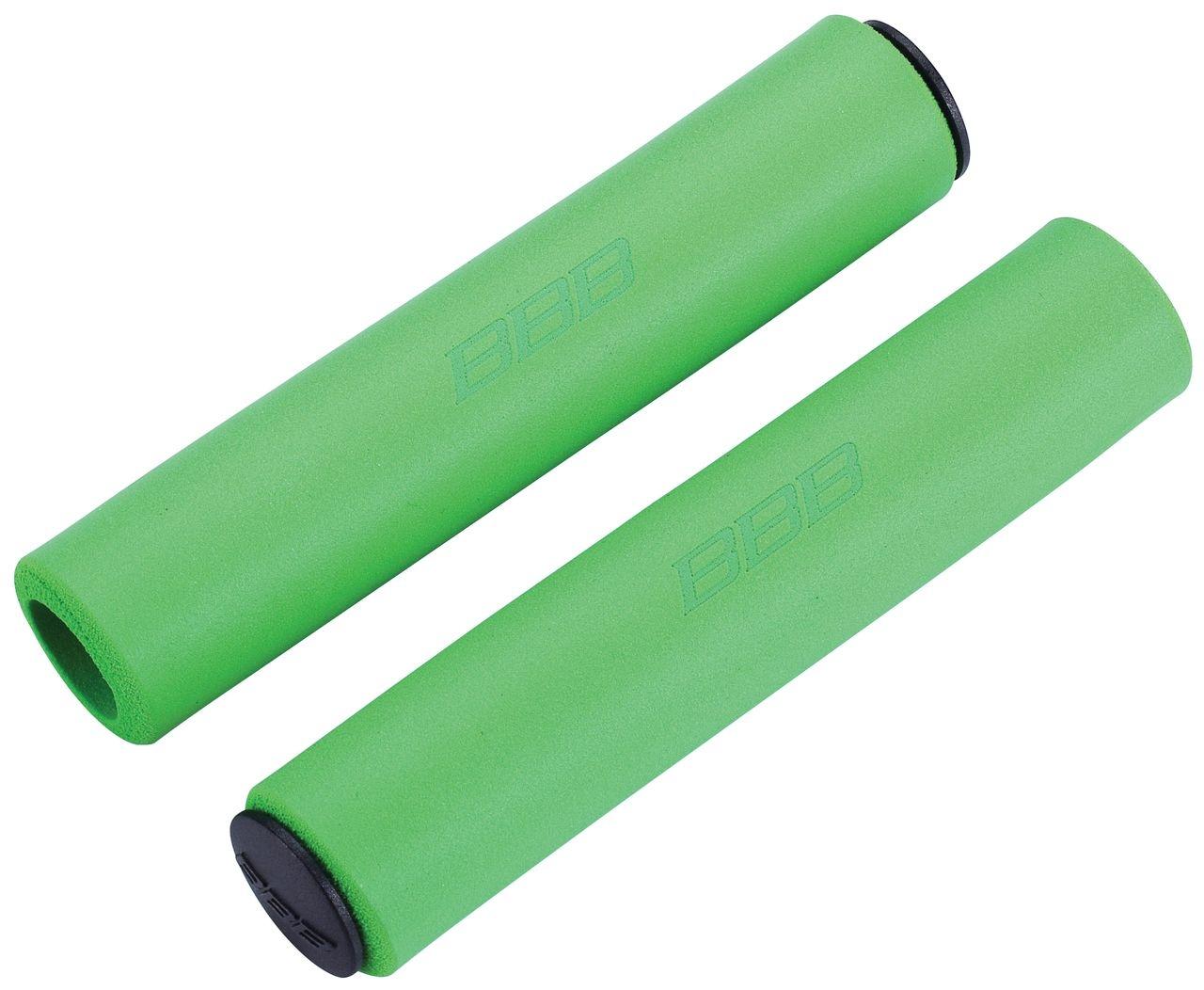 Poignées BBB Sticky 130 mm (vert) - BHG-34