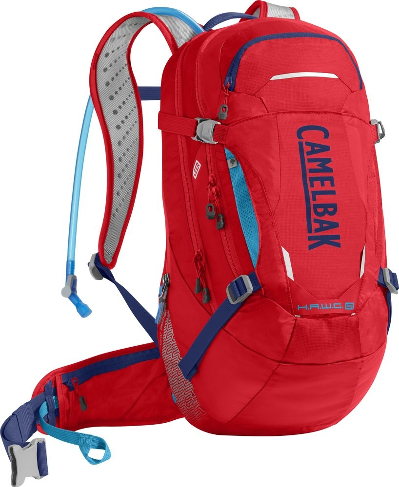 Sac à dos d'hydratation CamelBak HAWG LR 20 Racing Red/Pitch Blue