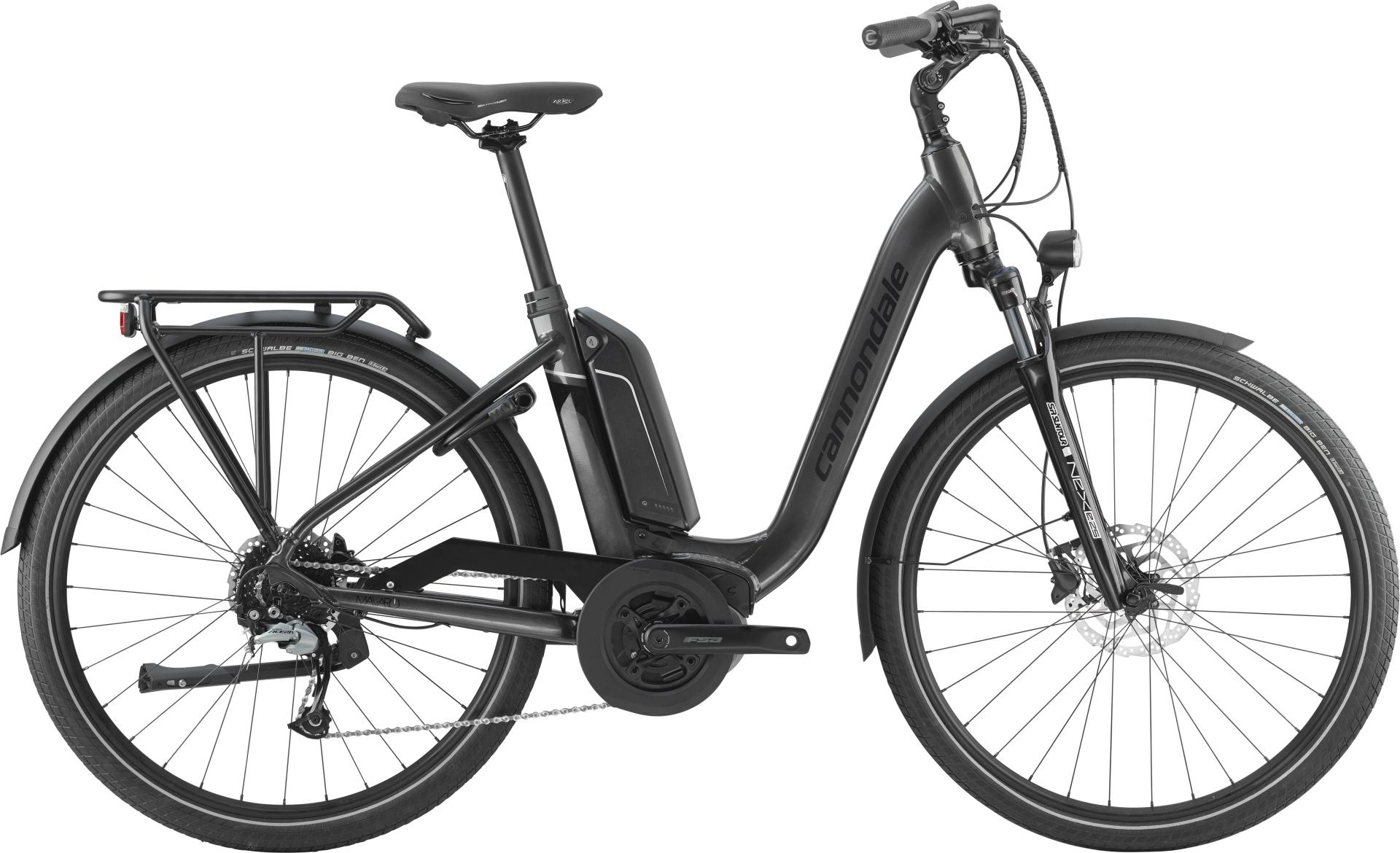 Vélo électrique Cannondale Mavaro Neo City 2 27.5 Bosch 400 Wh Anthracite - 45 cm