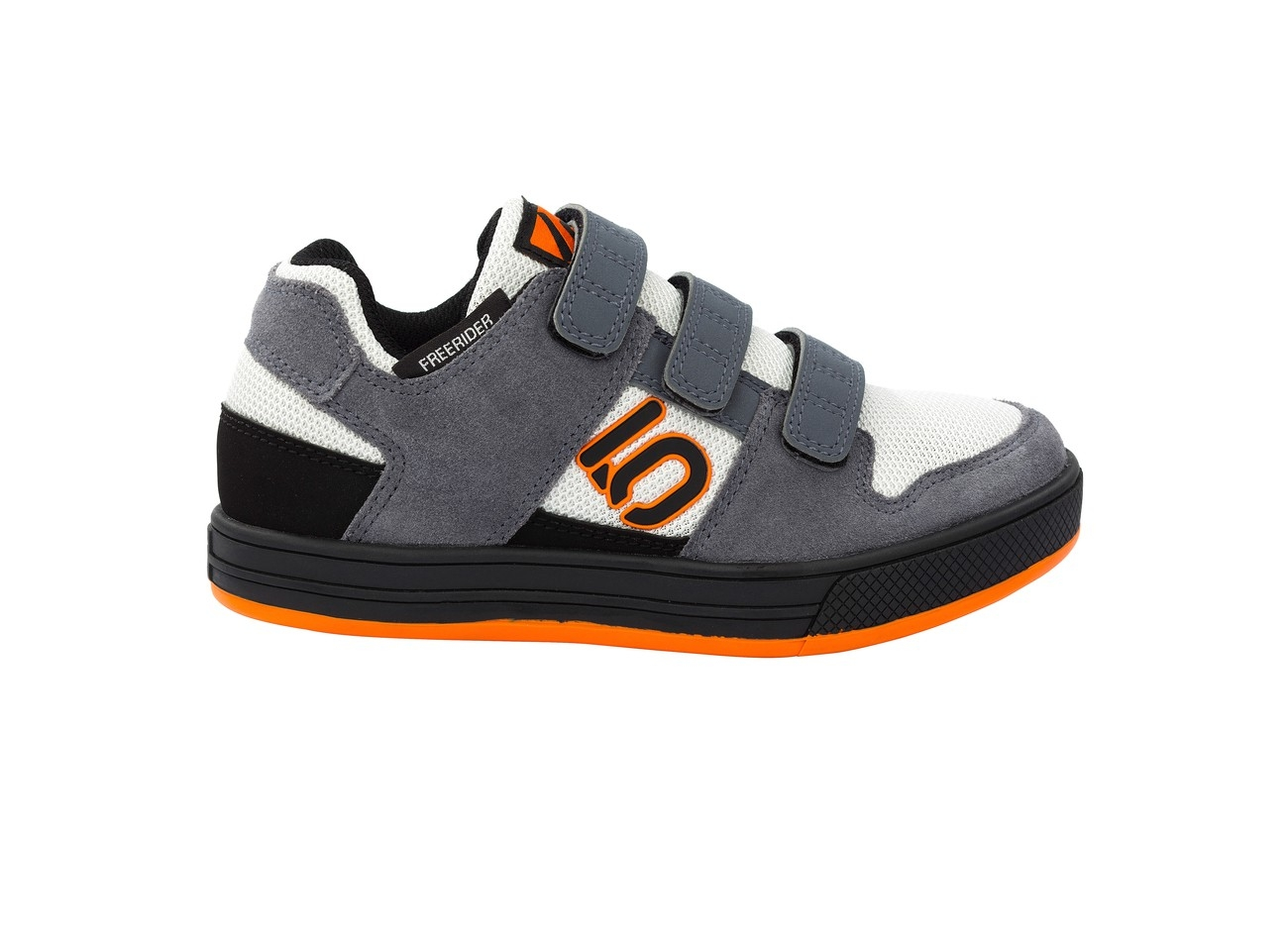 Chaussures Five Ten Freerider VCS Enfant Gris/Orange - UK-1.5 (34)