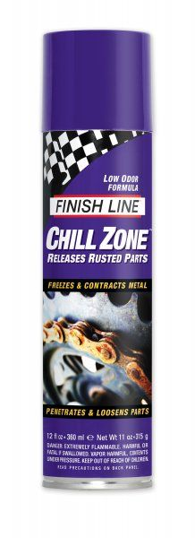 Dégrippant à froid Finish Line Chill Zone Aérosol 500 ml