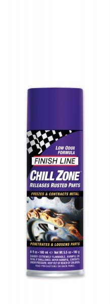Dégrippant à froid Finish Line Chill Zone Aérosol 180 ml