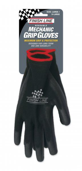 Gants d'atelier Finish Line Grip Mechanic - S/M