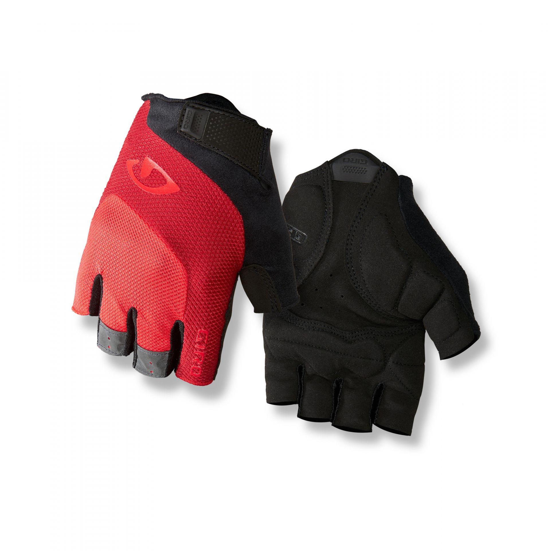 Gants Giro BRAVO Gel Rouge Bright - M