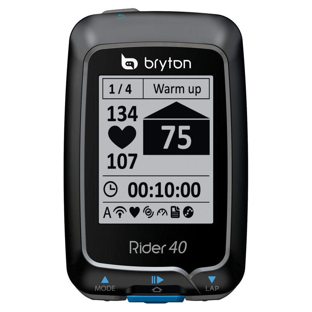 Compteur GPS Bryton Rider 40 E
