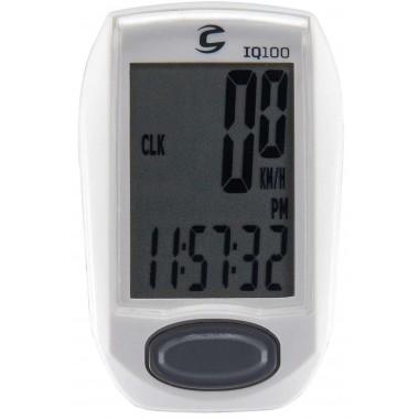 Compteur Cannondale filaire IQ100 11 fonctions (Blanc)