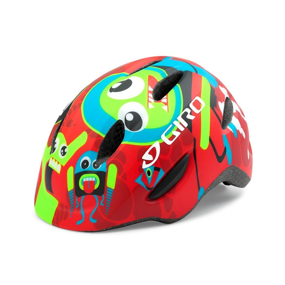Casque enfant Giro SCAMP Rouge Rocket - 45-49 cm