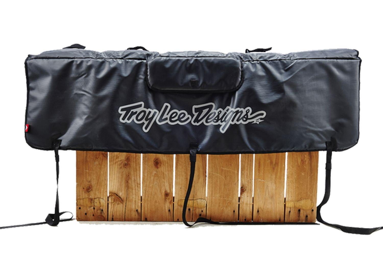 Tailgate Troy Lee Designs Signature pour hayon de pick-up Noir
