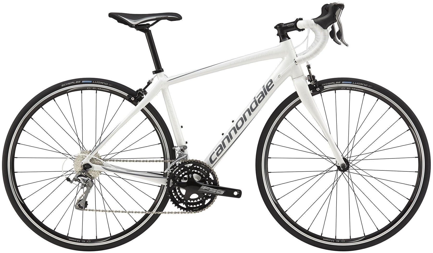 Vélo route Cannondale Synapse WMN Tiagra (Blanc) - 51 cm