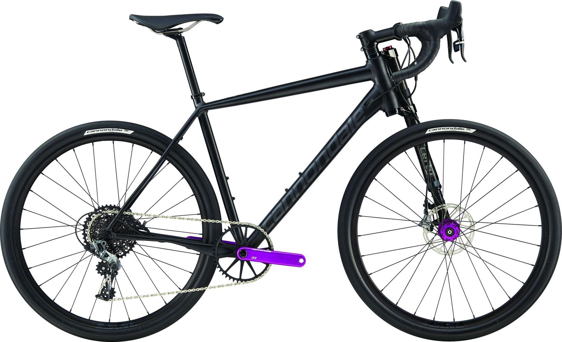 Vélo gravel cannondale Slate Force CX1 2017 (Noir mat) - M