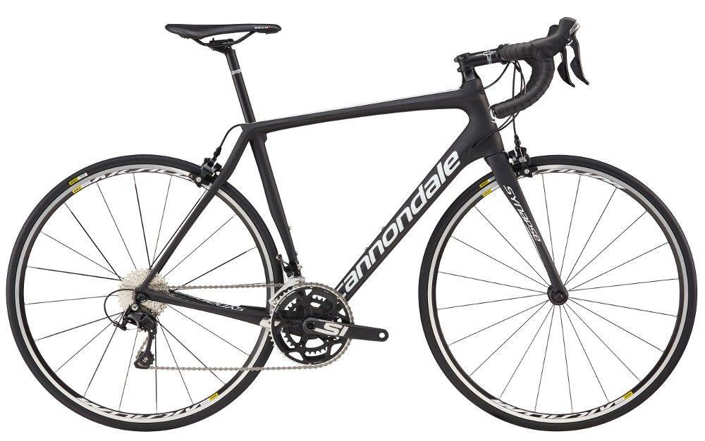 Vélo route Cannondale Synapse Carbon 105 2017 Noir - 56