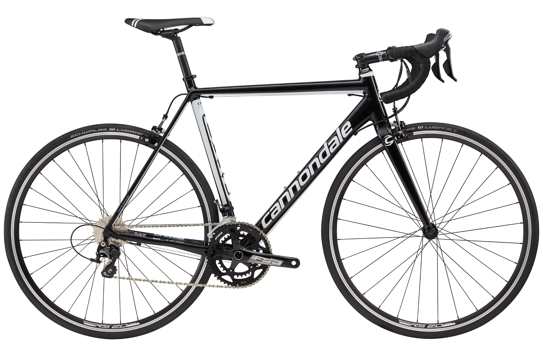 Vélo Cannondale CAAD Optimo 105 Noir 2017 - 54 cm