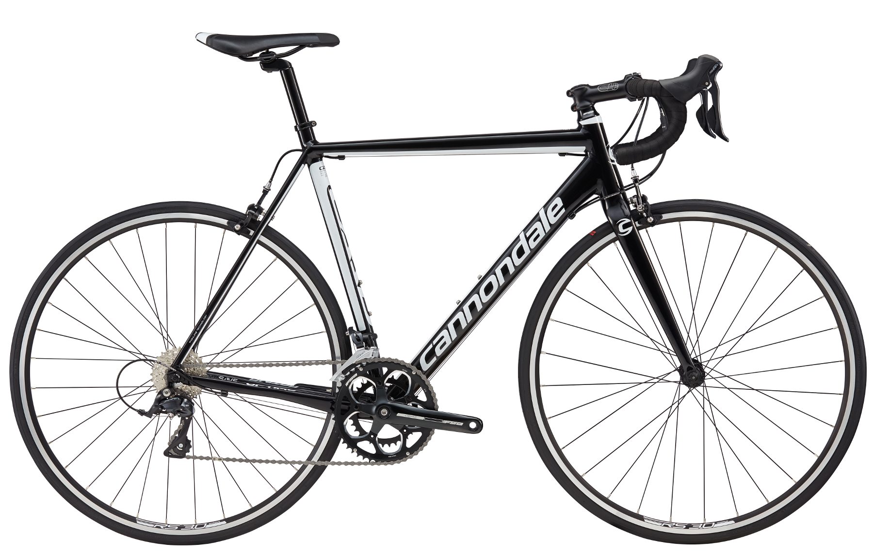 Vélo Cannondale CAAD Optimo Sora Noir 2017 - 54 cm