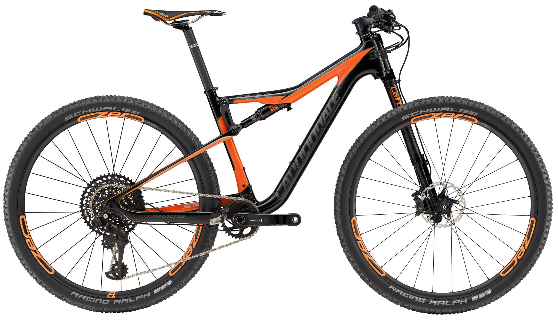 VTT Cannondale Scalpel-Si Carbon 2 Eagle Noir/Orange - M / 29