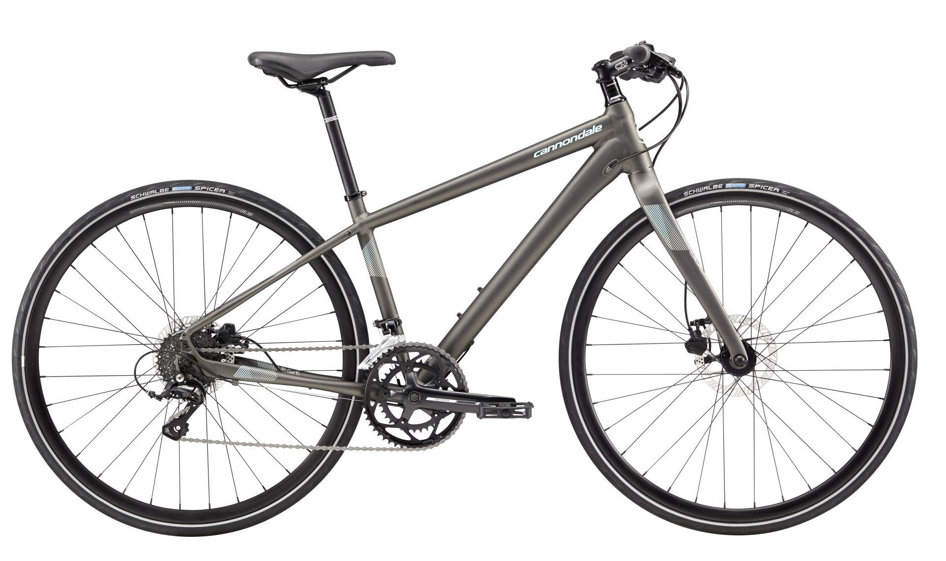 Vélo fitness Cannondale Quick Disc 3 WMN Anthracite - M / 40 cm