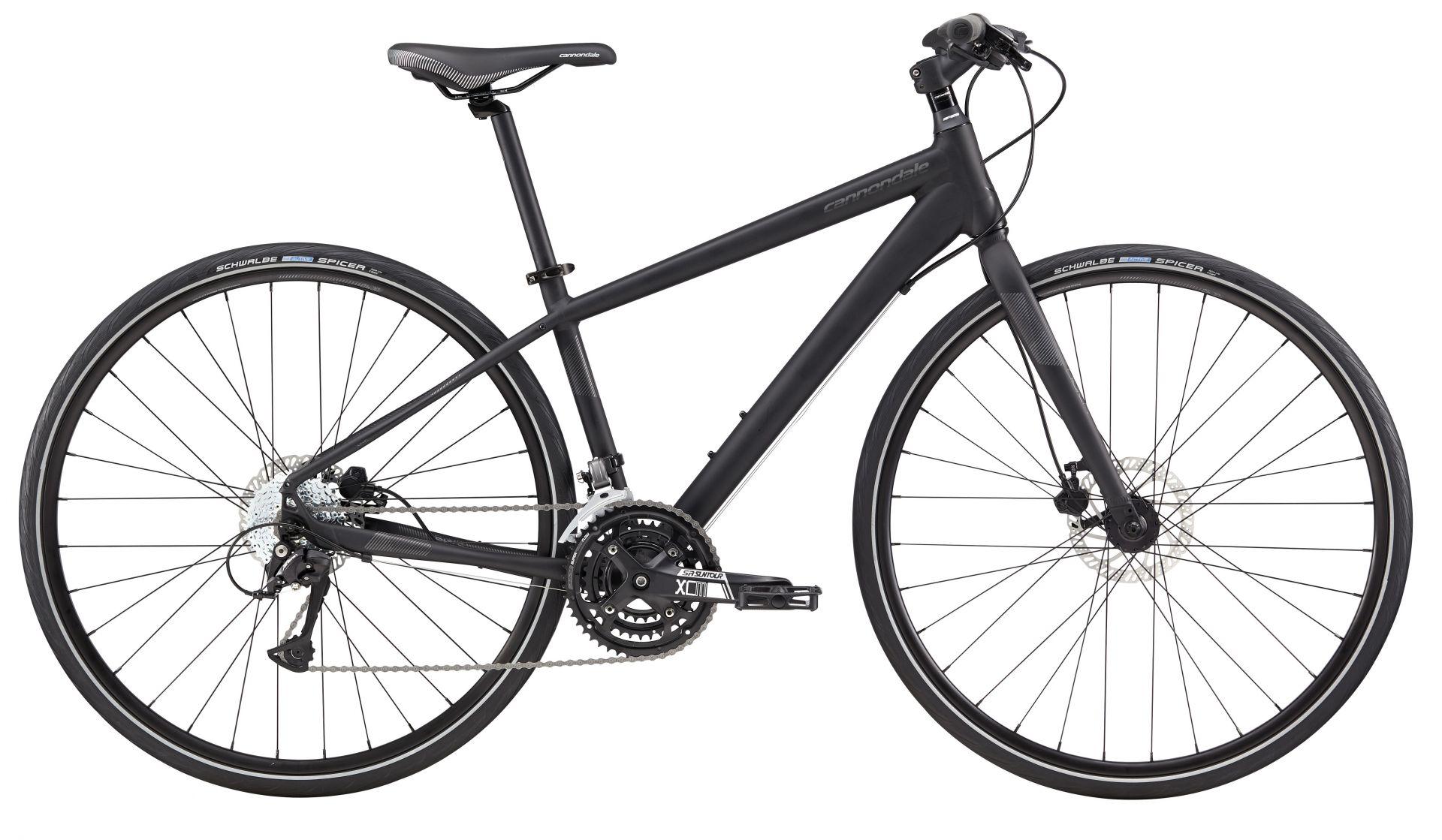 Vélo fitness Cannondale Quick Disc 5 Femme 2017 Noir - S / 35 cm