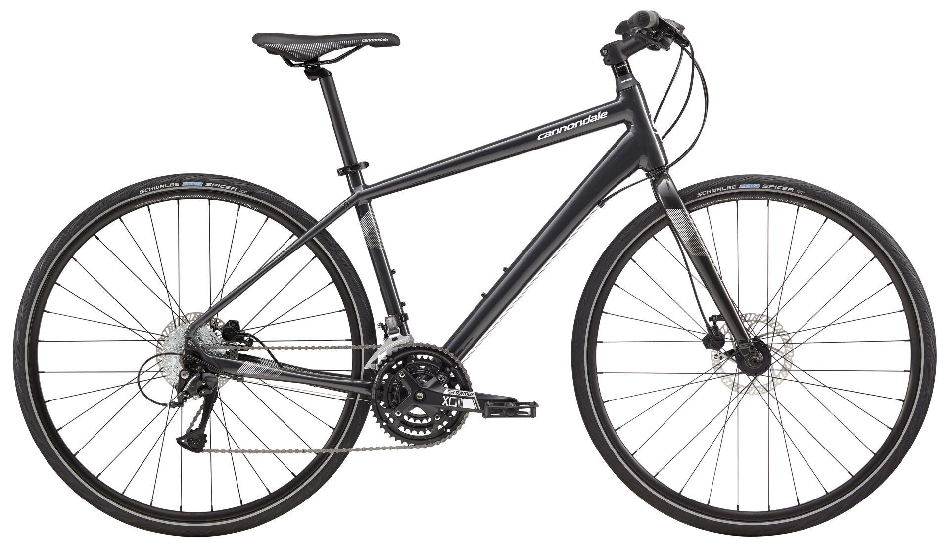 Vélo fitness Cannondale Quick Disc 5 2018 Noir/Blanc - M / 45 cm