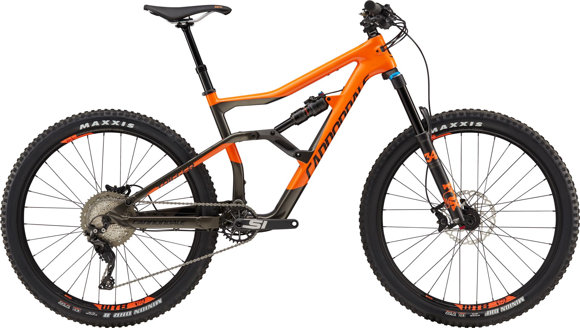 VTT Cannondale Trigger Carbon 3 Orange/Noir - M