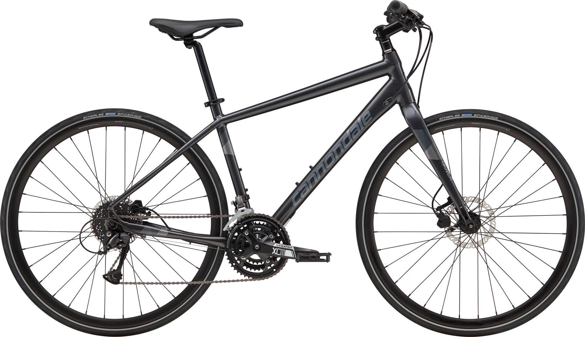 Vélo fitness Cannondale Quick Disc 4 Noir Graphite/Argent - M