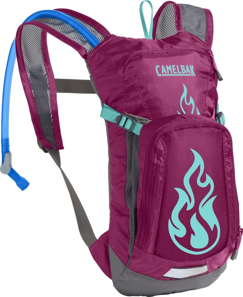 Sac à dos d'hydratation CamelBak Mini MULE Baton Rouge/Flammes