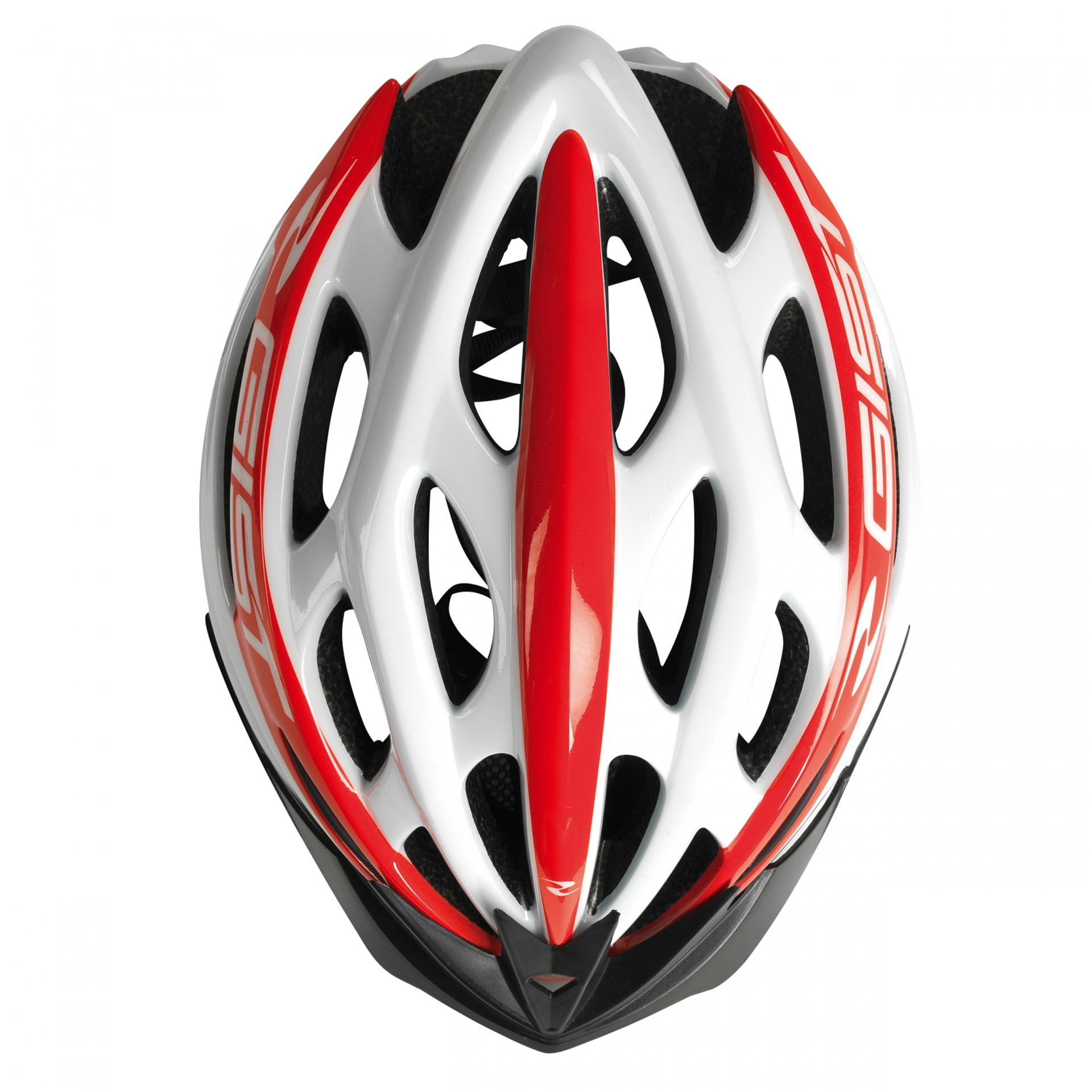 Casque Vélo GIST Faster Blanc/Rouge - 52-58 cm