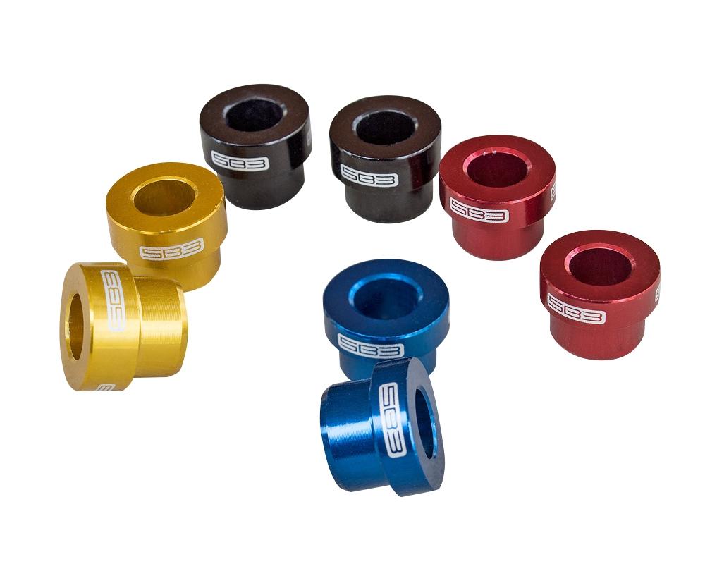 Entretoises d'amortisseur SB3 (par paire) 22,2x8 mm Rouge