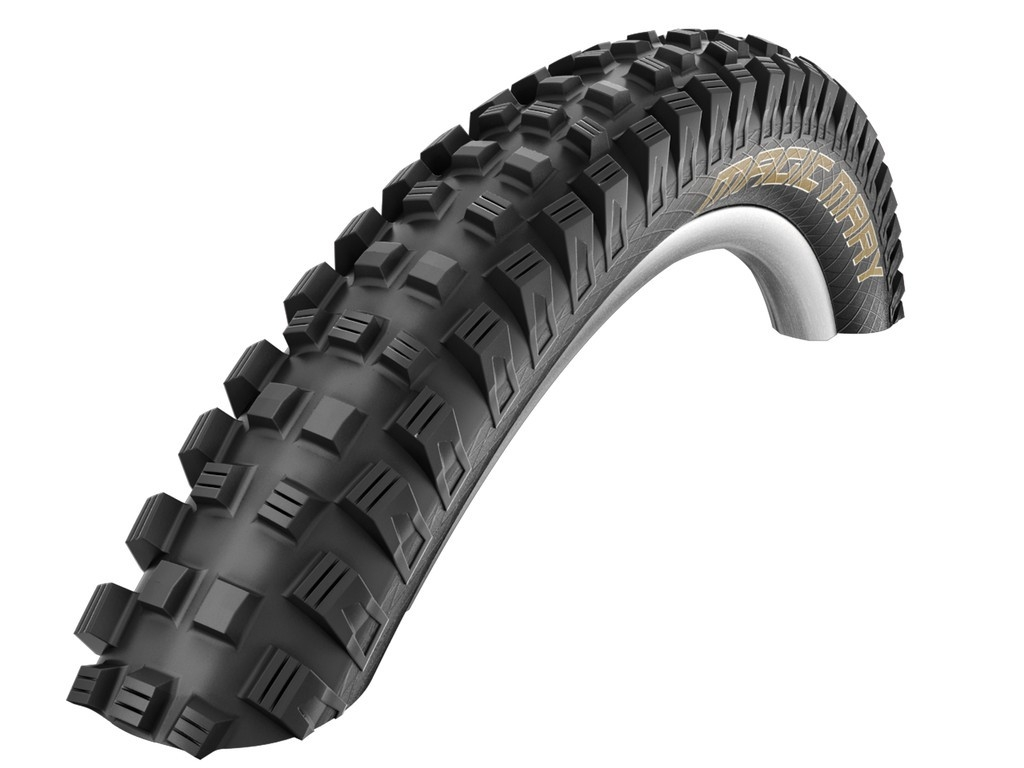 Pneu 27.5 x 2.50 Schwalbe Magic Mary noir (TR DH EL)