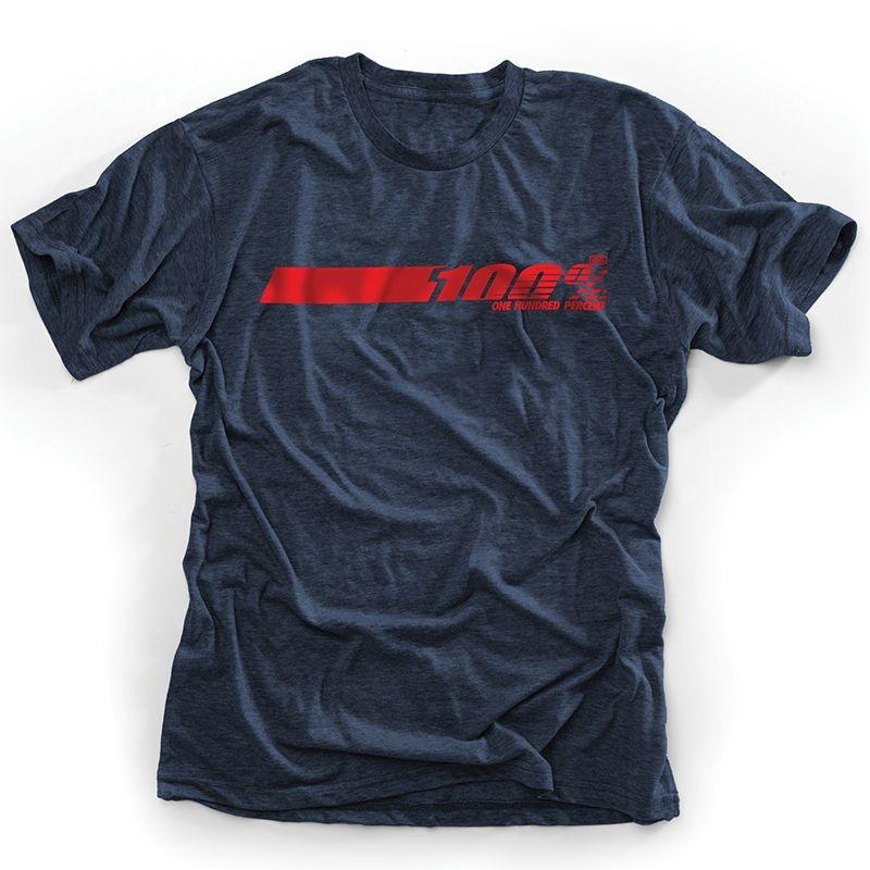 Tee shirt 100% Talladega bleu - XL