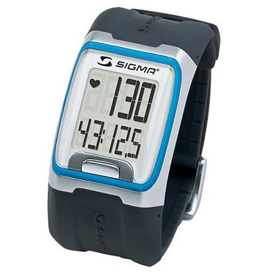 Montre cardio-fréquencemètre Sigma PC 3.11 avec ceinture Noir/Bleu