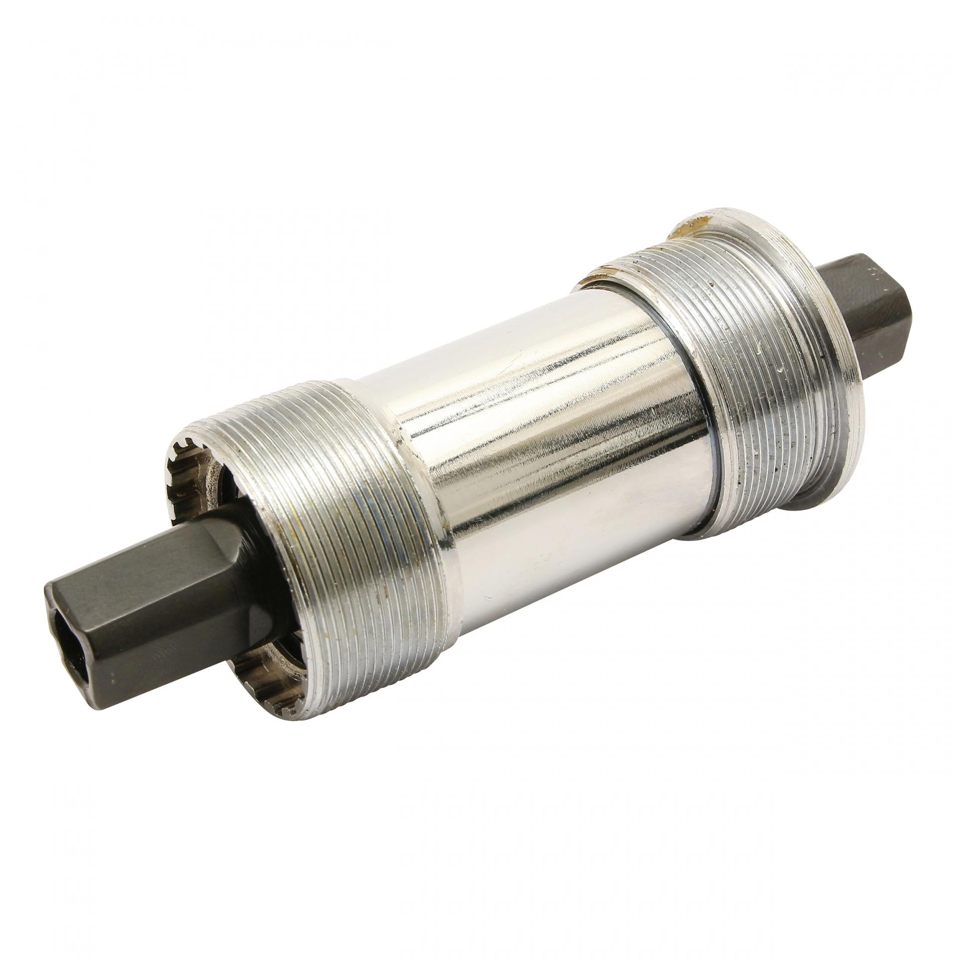Boîtier de pédalier cartouche alu Filetage anglais 68x110 mm Carré