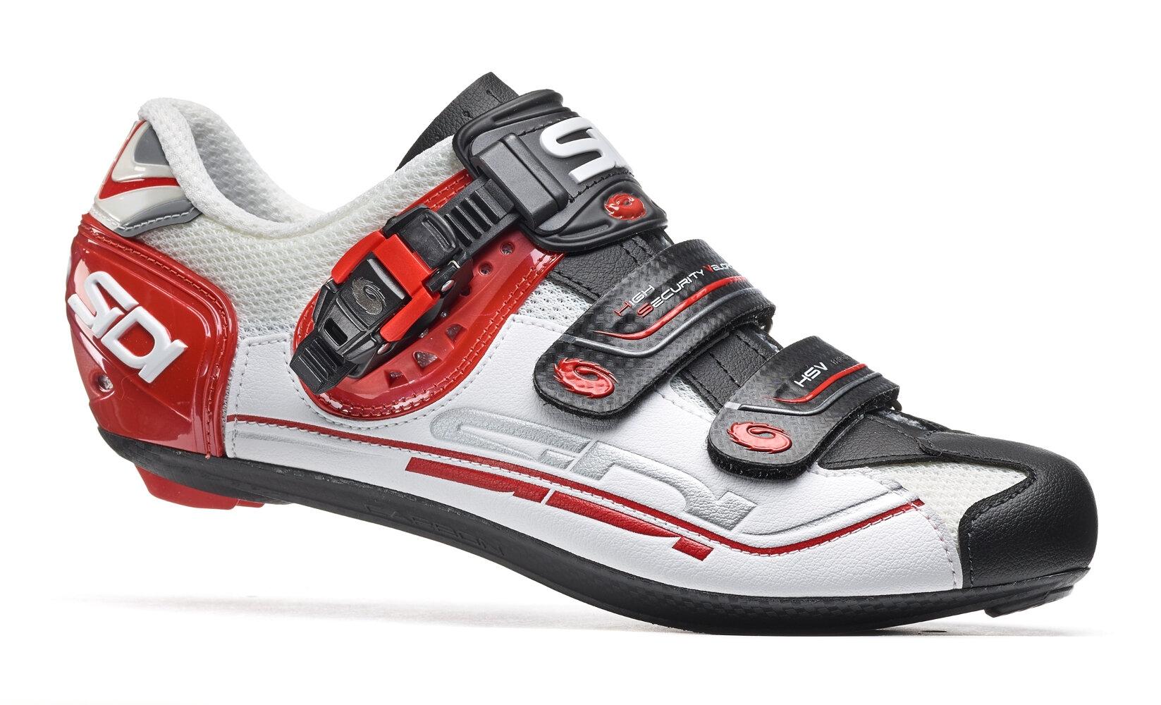 Chaussures Sidi GENIUS 7 Blanc/Noir/Rouge - 43