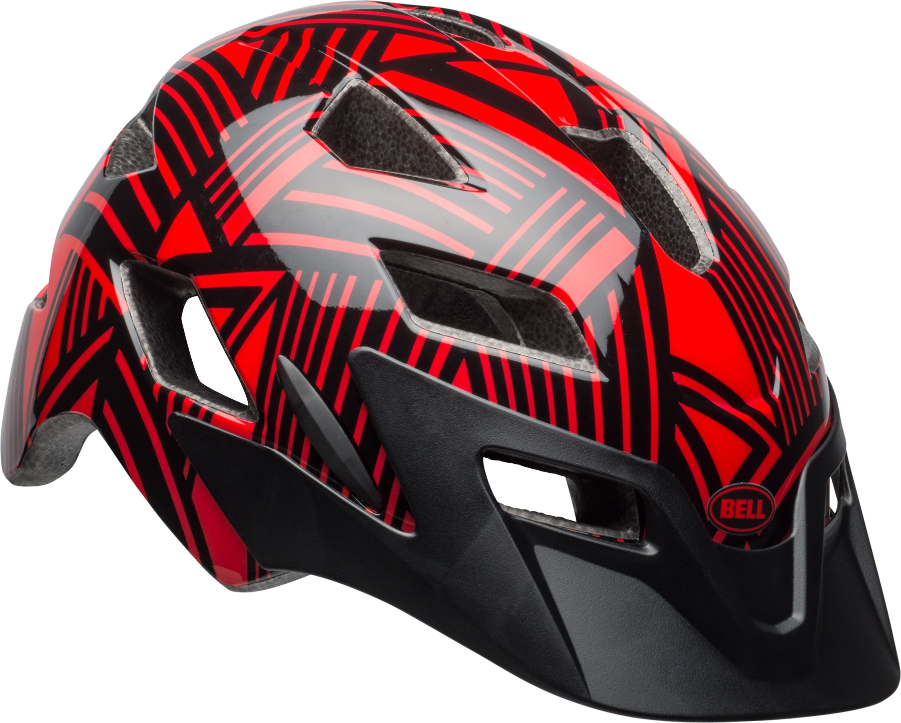 Casque enfant Bell SIDETRACK CHILD Rouge/Noir Seeker