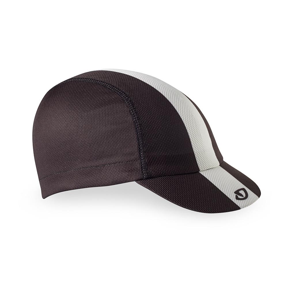 Casquette Giro Peloton Cap Noir/Blanc/Gris