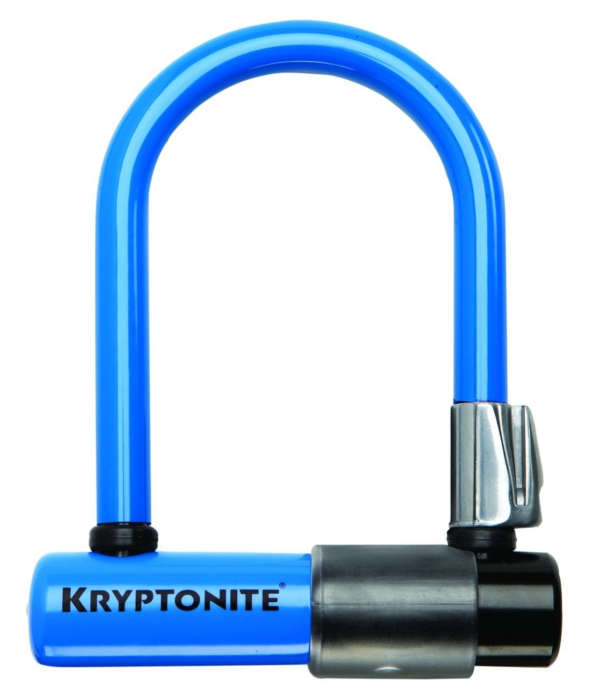 Skins Kryptonite pour antivol Evolution Mini U-Lock Bleu