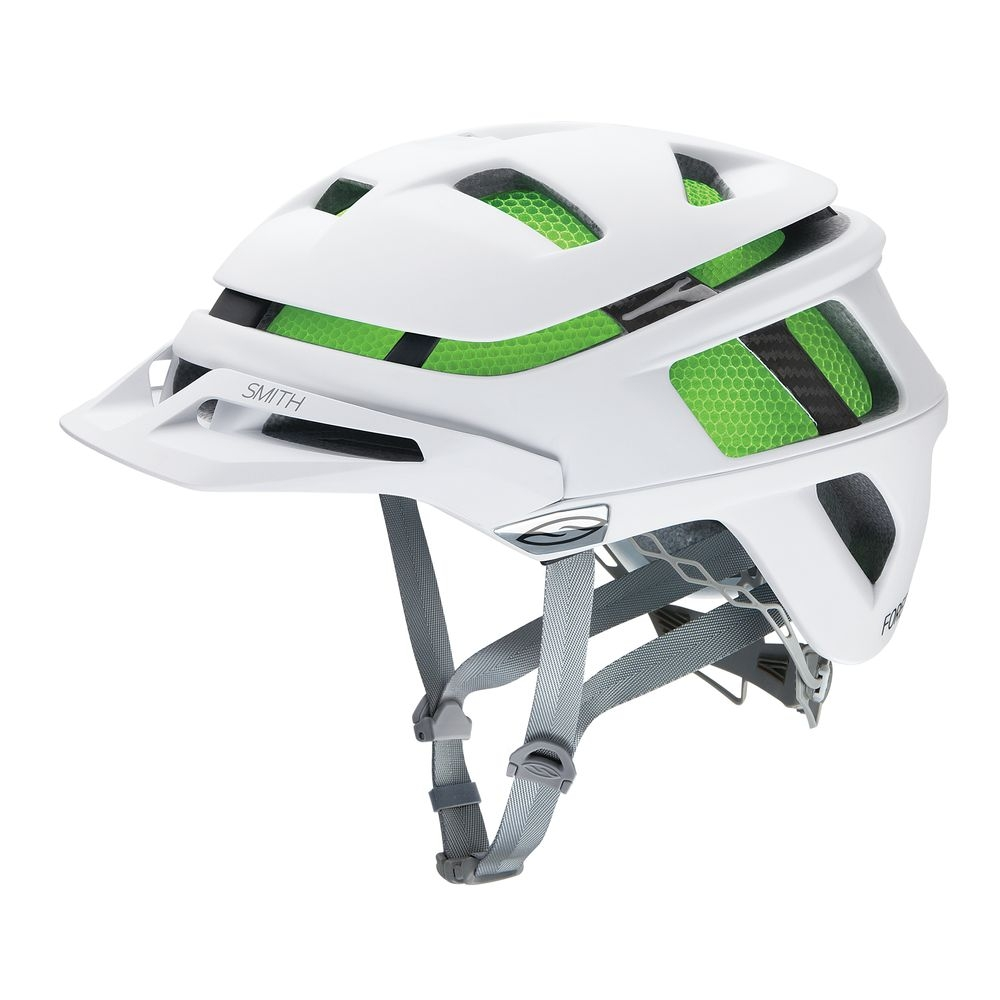 Casque Smith Forefront Mat Blanc - S / 51-55 cm