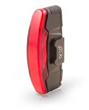 Éclairage arrière Spanninga Arco Rear (Batterie Li-Ion rechargeable)