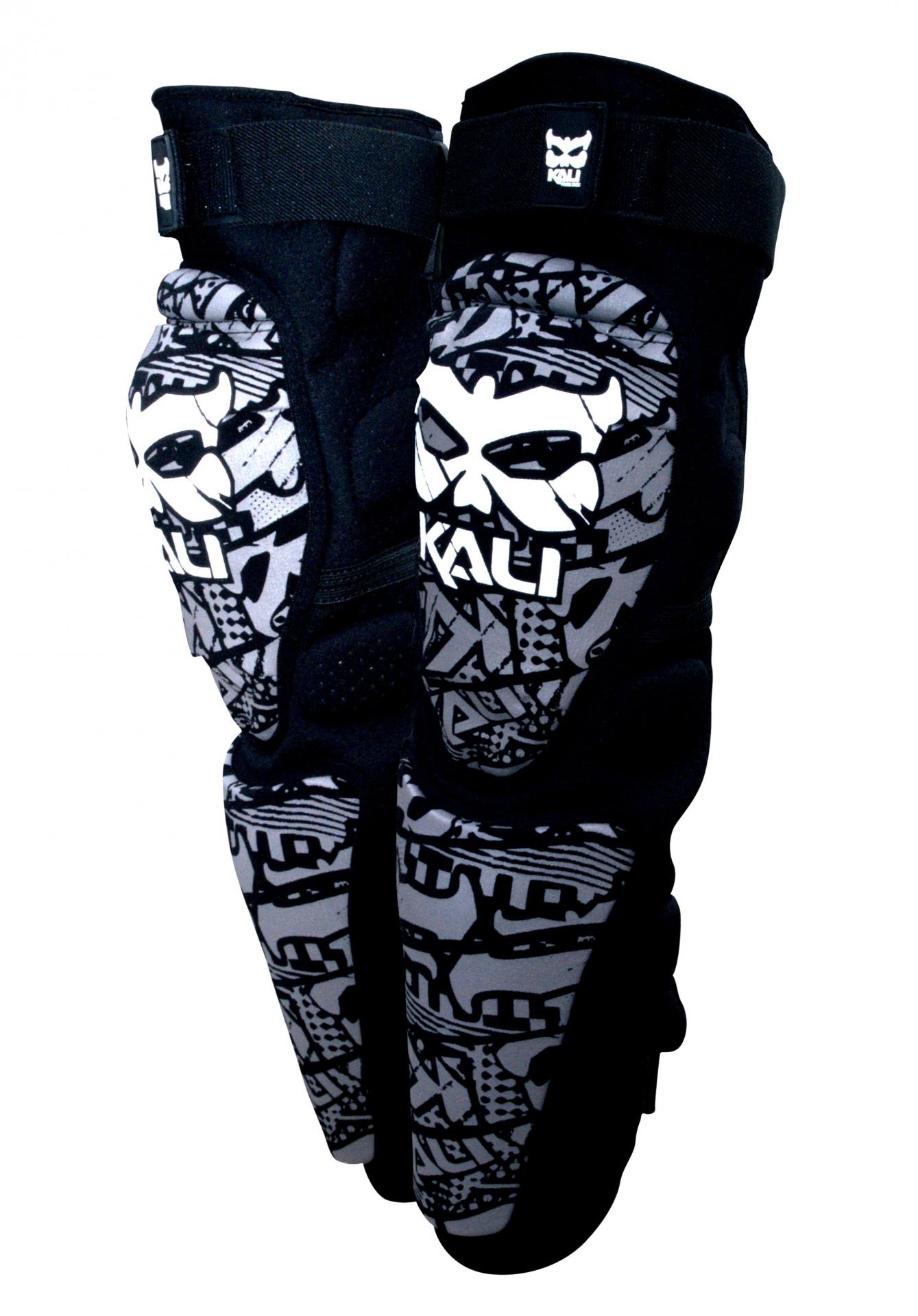 Genouillères Kali Protectives Aazis Plus 180 Soft Noires - S