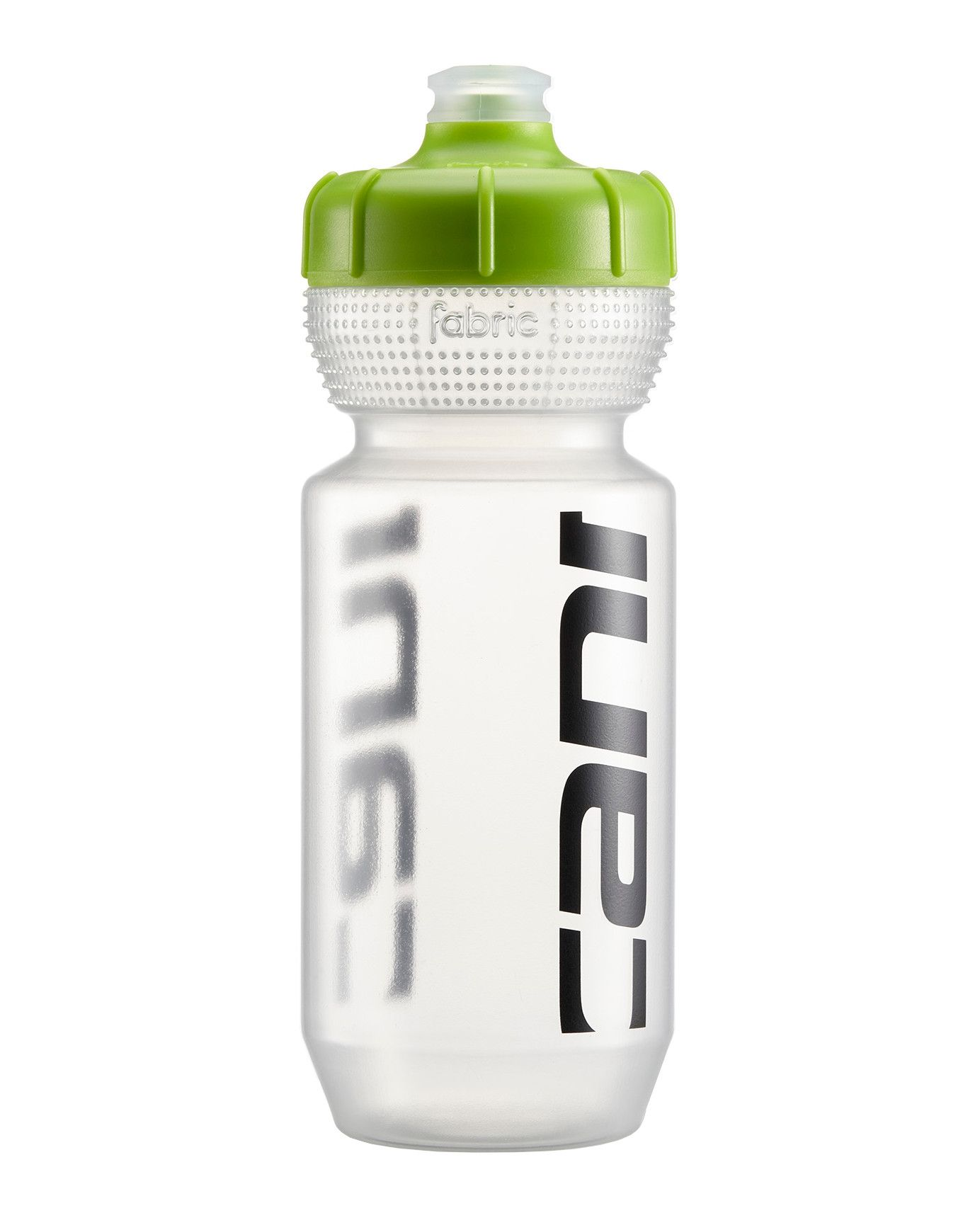 Bidon Fabric Cannondale Logo Bottle 600 ml Transparent/Vert
